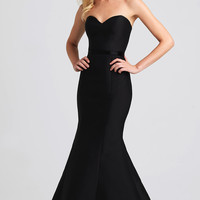 Long Strapless Mermaid Style Prom Dress by Madison James