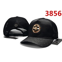 BLACK Versace Classic Baseball Cap Sun Cap Tennis Cap Sports Hat for Women Men Adjustable