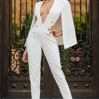 New Resolution Jumpsuit - White