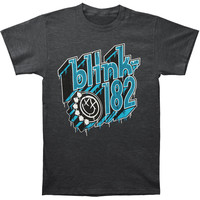 Blink 182 Men's  Driptype T-shirt Black