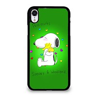 PEANUTS SNOOPY AND WOODSTOCK iPhone XR Case