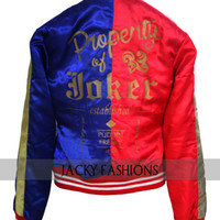 Red and Blue Suicide Squad Harley Quinn Jacket - Available in All Sizes