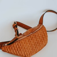 Fanny Pack Belt Bag (Brown)