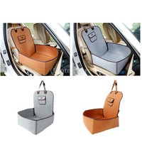 Pet Front Seat Cover Protector for All Cars Dog Cat Booster Carrier Non-Slip