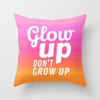 Glow Up Don't Grow Up Carry-All Pouch by CreativeAngel