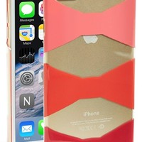 kate spade new york 'bow tiles' iPhone 6 Plus hard shell case