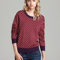 MARC BY MARC JACOBS Sweater - Luna Jacquard | Bloomingdale's