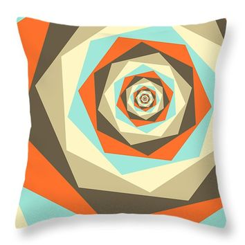 """Afternoon Chai Throw Pillow 14"""" x 14"""""""