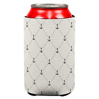 Anchor Pattern Can Cooler