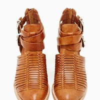 Jeffrey Campbell Stinson Ankle Boots - Tan