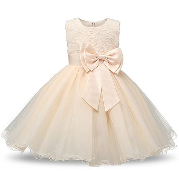 Girls Dress Design Princess Dresses for Girls Clothes Party Ceremony Prom Dress Clothes Baby to Teenage Age 10 11 12