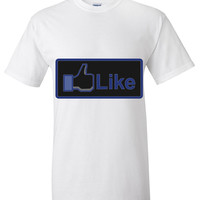 facebook like button T shirt