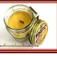8oz Butter Cookie Wood Wick Candle / Wood by ElfersCreekCandles