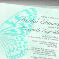 butterfly bridal shower invitations invitationsnob on Etsy, a global handmade and vintage marketplace.