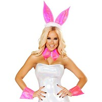 Sexy Playmate Centerfold Bunny Costume with Accessories