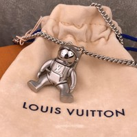 KUYOU   Louis Vuitton MP2222 Astronaut necklace is adorned with an Astronaut doll's arms and legs