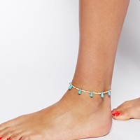 ASOS Nugget Charm Anklet