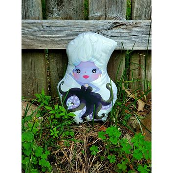 Ursula the Sea Witch Pillow Pal.