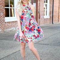 playfully yours dress - red