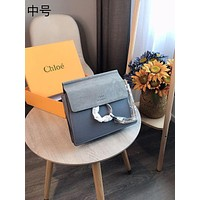 Chloe Newest Popular Women Leather Handbag Tote Crossbody Shoulder Bag Satchel-18