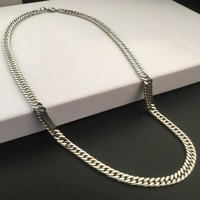 Shiny Stylish Jewelry Gift New Arrival Hot Sale Stainless Steel Fashion Hip-hop Club Necklace [6542760579]
