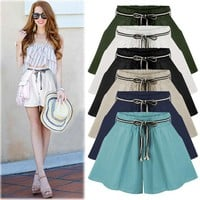 Drawstring Cosy Loose Shorts for Women