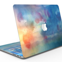 Blushed Blue 42 Absorbed Watercolor Texture - MacBook Air Skin Kit