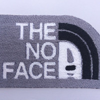 No Face from Spirited Away - Iron on Embroidered Patch