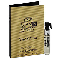 One Man Show Gold Vial (sample) By Jacques Bogart