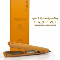 flat iron for straightening curly hair