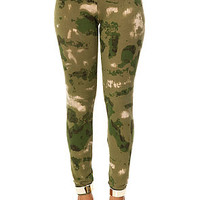 Crooks and Castles Legging French Camo