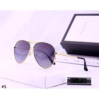 GUCCI 2019 new female models driving large frame polarized color film sunglasses #5