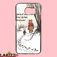 "New Winnie The Pooh Cartoon Quote for iphone 4/4s/5/5s/5c/6/6+, Samsung S3/S4/S5/S6, iPad 2/3/4/Air/Mini, iPod 4/5, Samsung Note 3/4 Case ""002"""