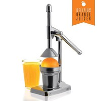 Delizius Deluxe Steel Juicer with Lever