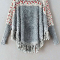 Cupshe On Your Arc Tassel Sweater