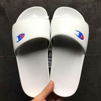 Champion Beach Sandal Women Slipper Shoes white H-PSX