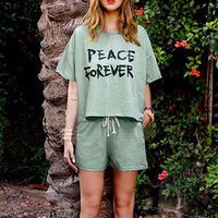 Fashion sportswear women short sleeve rompers