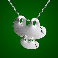 Momma and Baby Sloth Necklace