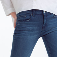 SKINNY MID-RISE SOFT TOUCH JEANS
