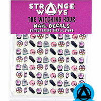 The Witching Hour Nail Decals
