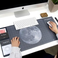 Cool universe pattern plastic desk mouse mat school office supplies creative gift