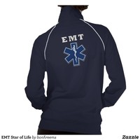 EMT Star of Life Track Jackets from Zazzle.com