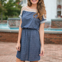 The Perfect Date Dress, Navy