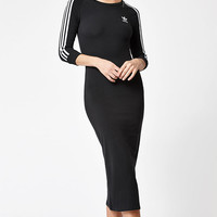 adidas 3-Stripes Bodycon Maxi Dress at PacSun.com