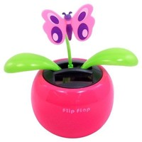 Solar Dancing Butterfly Assorted Colors 1 piece