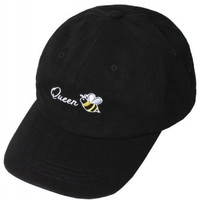 Queen Bee Embroidered Beyonce Weekend Baseball Hat
