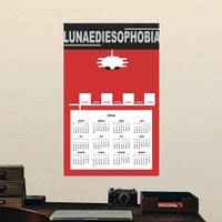 "People Who Hate Mondays ""Lunaediesophobia"" Calendars 