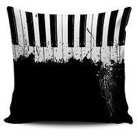 Splatter Piano Pillow Cover