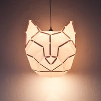 Cat Large - do it yourself paper lampshade