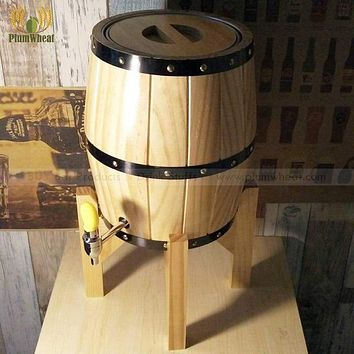 3 Liters OAK Wooden Beer Barrel